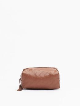 Urban Classics Tasche Imitation Leather Cosmetic Pouch  braun