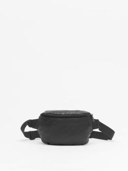 Urban Classics Tasche Leather Imitation schwarz