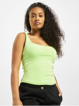 Urban Classics Topy/Tielka Wide Neck zelená