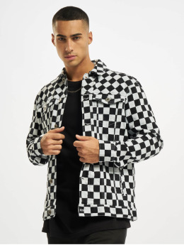 Urban Classics Transitional Jackets Check Twill grå