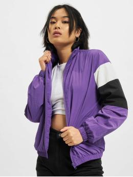 Urban Classics Transitional Jackets 3-Tone Crinkle  lilla