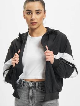 Urban Classics Transitional Jackets Crinkle Batwing svart