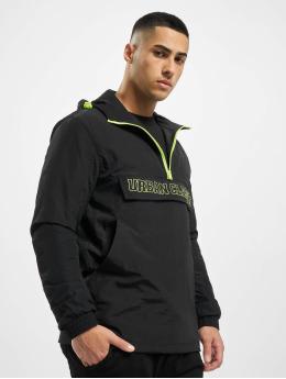 Urban Classics Transitional Jackets Contrast Pull Over svart