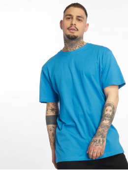 Urban Classics Tričká Basic modrá