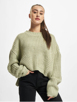 Urban Classics trui Ladies Wide Oversize groen