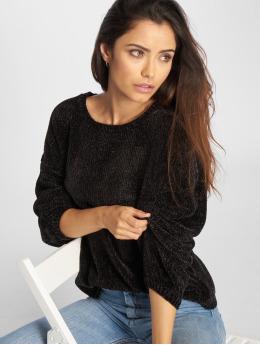 Urban Classics trui Oversize Chenille zwart