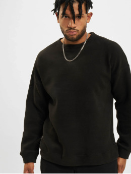 Urban Classics trui Polar Fleece zwart