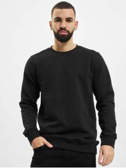 Urban Classics trui Organic Basic Crew zwart