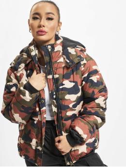 Urban Classics Veste matelassée Boyfriend Camo camouflage