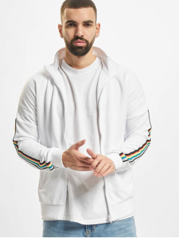 Urban Classics Veste mi-saison légère Sleeve Taped blanc