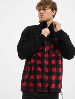 Urban Classics Veste mi-saison légère Patterned Polar Fleece Track noir