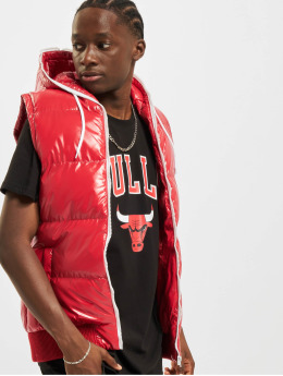 Urban Classics Veste Hooded Bubble rød