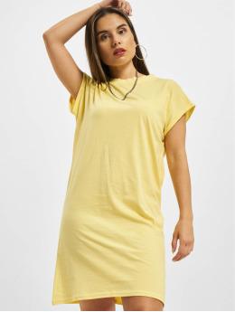 Urban Classics Vestido Ladies Turtle Extended Shoulder amarillo