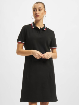 Urban Classics Vestido Polo  negro