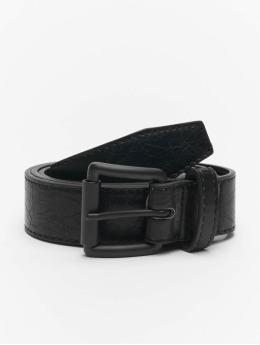 Urban Classics Vyöt Marmorized PU Leather musta