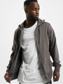 Urban Classics Zip Hoodie Basic Terry Zip черный