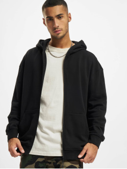 Urban Classics Zip Hoodie Organic Full Zip black