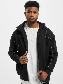 Urban Classics Zip Hoodie Reflective czarny