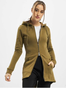 Urban Classics Zip Hoodie Ladies Sweat Parka  oliven