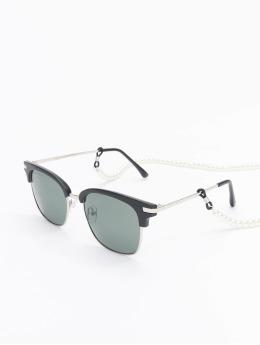 Urban Classics Zonnebril Sunglasses Crete With Chain zwart