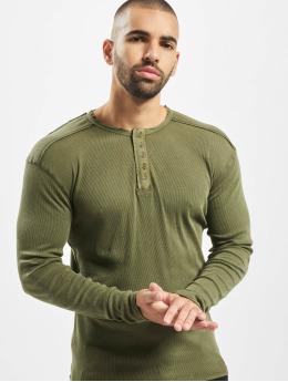 Urban Surface Camiseta de manga larga Ripped  verde