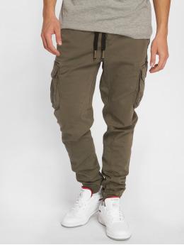 Urban Surface Cargo pants Cord hnědožlutý