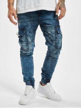 Urban Surface Chino bukser Cargo  blå