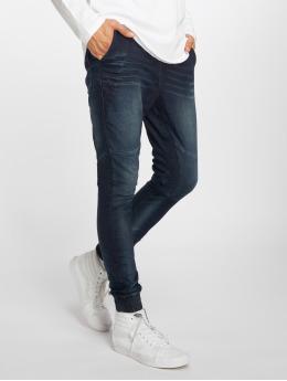 Urban Surface Jogging kalhoty Denim modrý