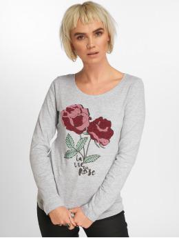 Urban Surface Maglietta a manica lunga Rose grigio