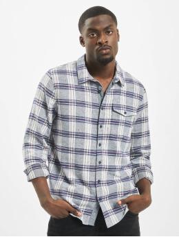 Urban Surface overhemd Flannel  blauw