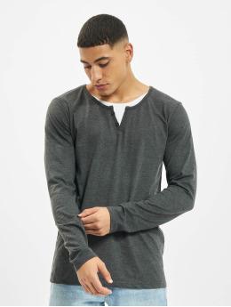 Urban Surface Pitkähihaiset paidat Button  harmaa