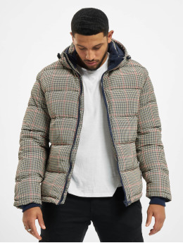 Urban Surface Puffer Jacket Checked beige