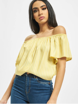 Urban Surface Puserot/Tunikat Stripe Blouse keltainen