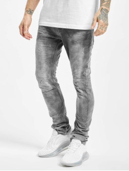 Urban Surface Slim Fit Jeans Washed šedá
