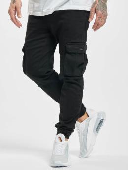 Urban Surface Spodnie Chino/Cargo Till  czarny
