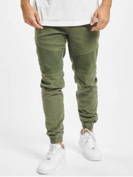 Urban Surface Spodnie wizytowe Finn  oliwkowy