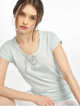 Urban Surface T-shirts Stripe turkis