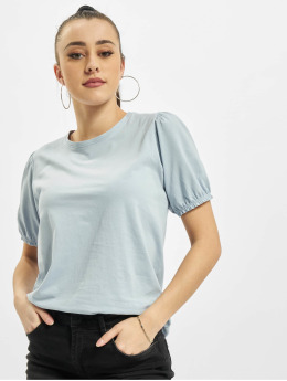 Urban Surface T-Shirty Ruffles niebieski