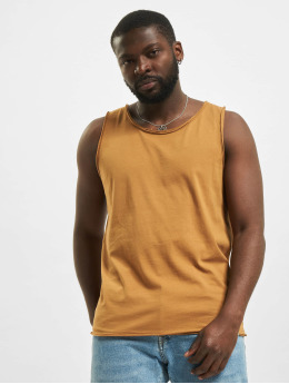 Urban Surface Tank Tops Basic brown