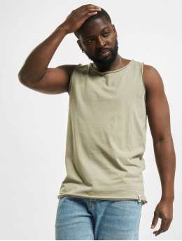 Urban Surface Tank Tops Basic khaki