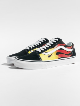 Vans Baskets Old Skool Flame noir