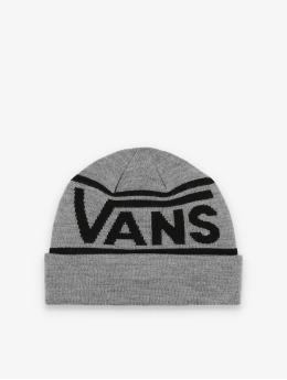 Vans Beanie Drop V Stripe Cuf grijs