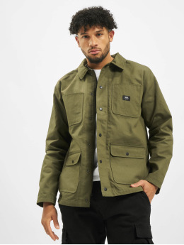 Vans Lightweight Jacket Drill Chore Lined Ripstop olive