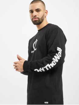 Vans Longsleeve Distorted Performance zwart