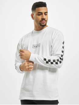 Vans Longsleeves Mn Easy Box Checker bialy