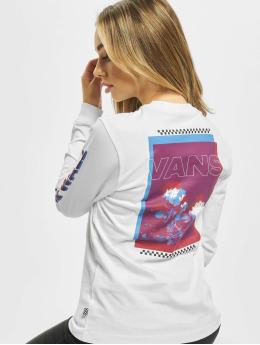 Vans Pitkähihaiset paidat Doubler  valkoinen