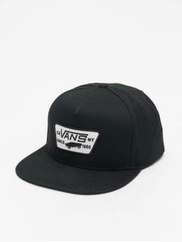 Vans Snapback Caps Full Patch czarny