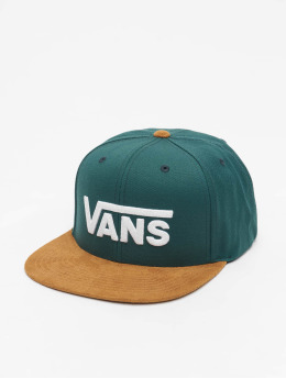 Vans Snapback Caps Drop V II zelený