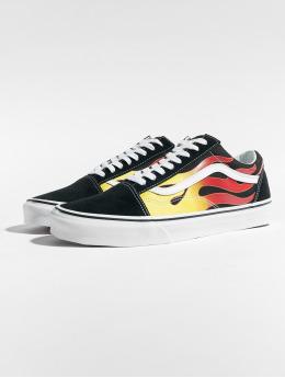 Vans Sneaker Old Skool Flame nero