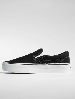 Vans Classic Slip-On Platform Sneakers Black/True White